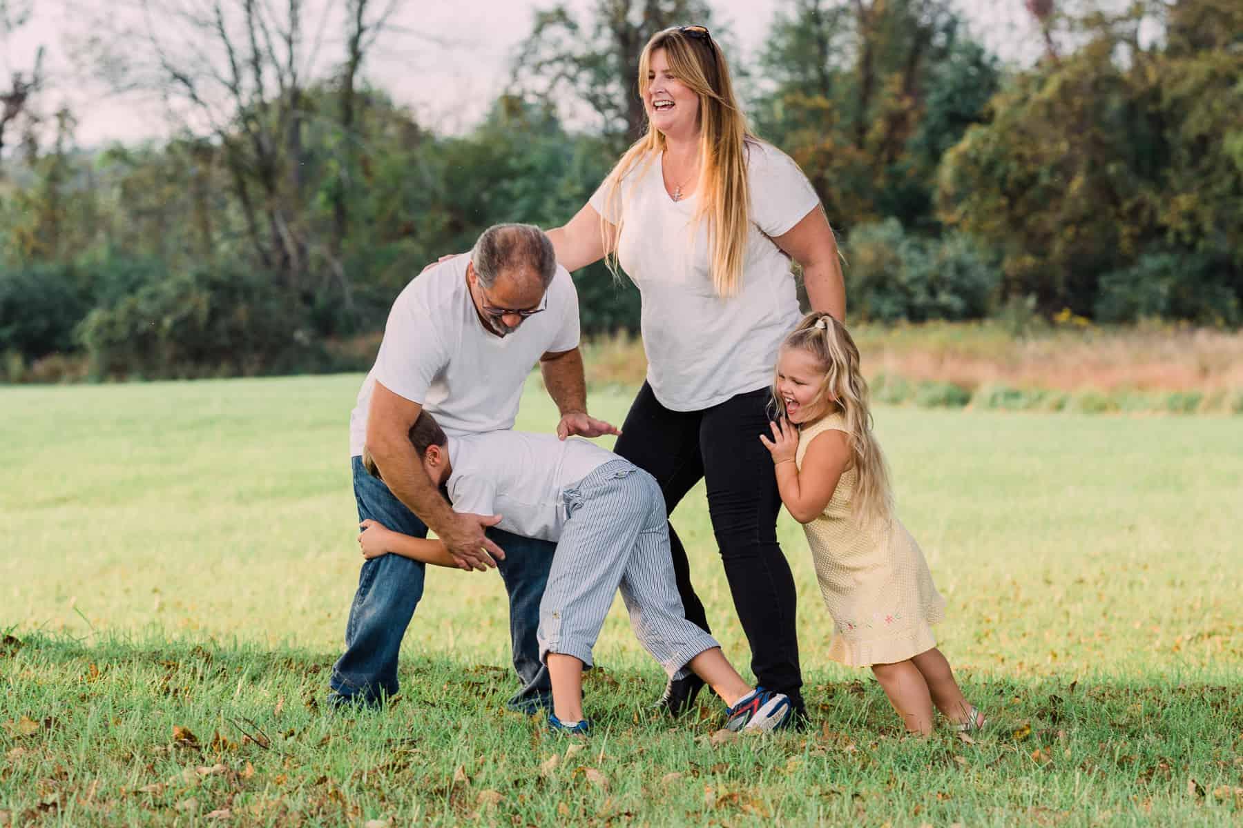 Tackling Mom and Dad