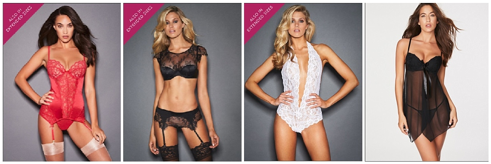 Federick's of Hollywood lingerie